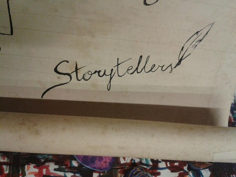 Die Storytellers nehmen Raum 222 im Unperfekthaus ein