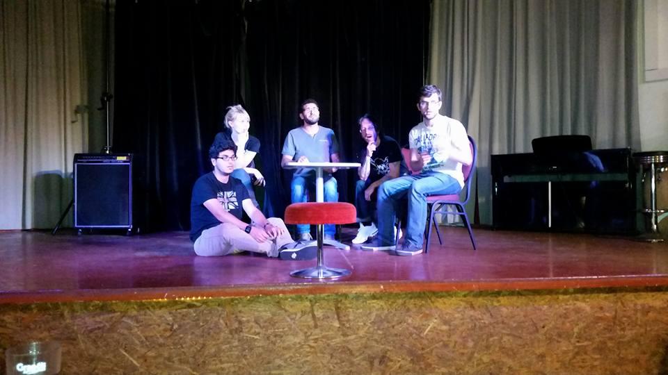 Wir sind die Storytellers, wir machen Theater!