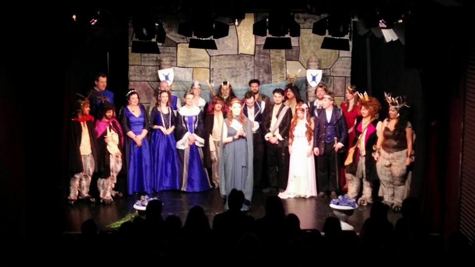 Volles Haus im Grend Theater für die Storytellers